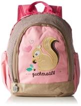 Adelheid Zuckersüß Eichhörnchen Kinderrucksack 13250915912 Mädchen Mädchenhandtasche 22x29x15 cm (B x H x T), Pink (altrosa 612) -