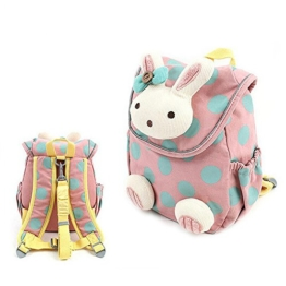 Babyrucksack Kindergartenrucksack Kindergartentasche Backpack Schultasche Kinder (rosa) -