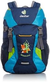 Deuter Unisex - Kinder Wanderrucksack Waldfuchs, midnight-turquoise, 35 x 35 x 15 cm, 10 Liter, 36031 -