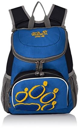 Jack Wolfskin Unisex - Kinder Rucksack Little Joe, night blue, 31 x 26 x 23 cm, 11 liters, 26221 -