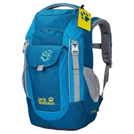 Jack Wolfskin Unisex – Kinder Wanderrucksack Explorer, glacier blue, 45 x 26 x 24 cm, 16 liters, 2000861-1121 - 1