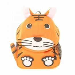 Kinder Rucksack im Tier-Design, verschiedene Designs (One Size) (Zebra) -