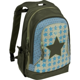 Lässig Mini Backpack Big Kinderrucksack Kindergartentasche,Starlight olive -