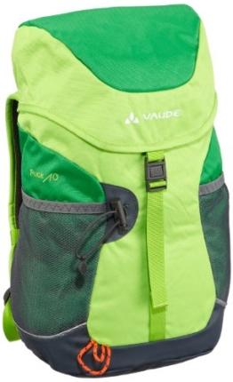 Vaude Unisex - Kinder Rucksack Puck 10, grass/applegreen, 10 Liter, 15002 -