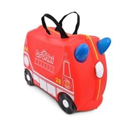 Trunki 10115 Kinderkoffer Frank Kindergepäck, 18 Liter, Rot -